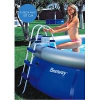 Scaletta Bestway per piscine da 107 cm