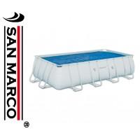 Copertura isotermica per piscine Frame da 549x274 cm