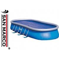 Copertura isotermica per piscine ovali 610x366 cm