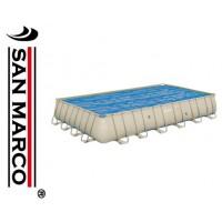 Copertura isotermica per piscine Frame da 732x366 cm