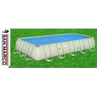 Copertura isotermica per piscine rettangolari 404-412 cm