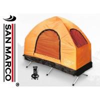 4 in 1 tenda da campeggio con materasso gonfiabile e accessori