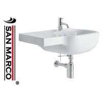 Lavabo bagno Pozzi Ginori 500 70 cm sx