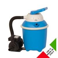 Pompa filtro a sabbia Fasatech da 4 metri cubi a 7 funzioni