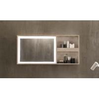 Specchio bagno Pozzi Ginori 60x135 cm Citterio fumè
