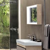 Specchio bagno Pozzi Ginori Citterio 60x120 cm sabbia