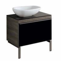 Mobile lavabo Pozzi Ginori Citterio 51x55x89 cm sabbia sx