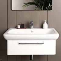Mobile lavabo Pozzi Ginori Fast 20x90 cm bianco