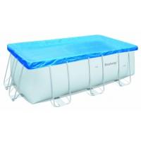 Telo di copertura per piscine frame Bestway da 412x201 cm