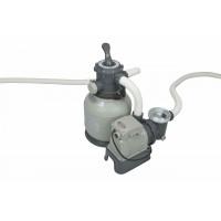 Pompa filtro a sabbia Intex da 7,9 metri cubi a 6 funzioni