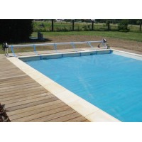 Rullo avvolgitore Gre per piscine interrate fino ad una larghezza di 5,5 mt.