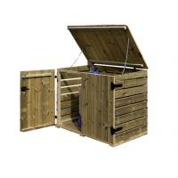 Locale tecnico per piscine in legno di pino nordico