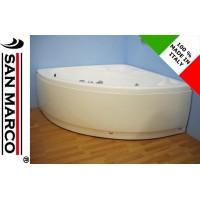 Vasca da bagno angolare con idromassaggio 150x150 cm