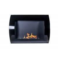 Caminetto al bioetanolo Hot Winter nero