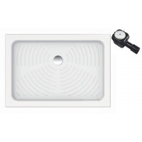 Piatto doccia in ceramica per cabina doccia 70x100 cm