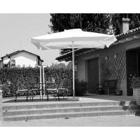 Telo per ombrellone da giardino quadrato Contract - bianco