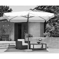Telo per ombrellone da giardino in legno 3x4 mt, serie delux