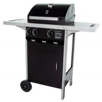 Barbecue a gas Optima 2.1, con due bruciatori in acciaio inox