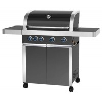 Barbecue a gas Prominent 5+1, con pulsanti a LED blu