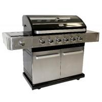 Barbecue a gas Excellence 6+1, per grandi grigliate