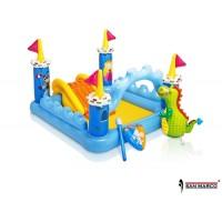 Gioco gonfiabile Fantasy Castle Play Center