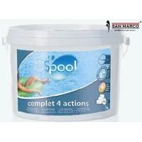 Pastiglie multiazione per piscine Gre 500 gr, 4 azioni