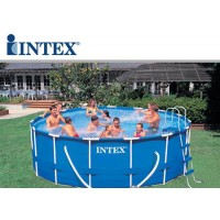 Piscina fuori terra Intex Metal frame rotonda 732x132 cm
