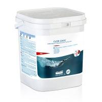 Cloro shock per piscine in pastiglie GRE, 5 Kg