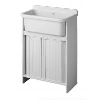 Mobile lavatoio Orazio salvaspazio ingombra solo 55x35 cm