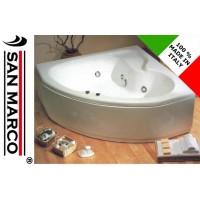 Vasca da bagno idromassaggio ad angolo 140x140cm