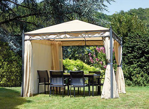 Arredo giardino guida per l acquisto del tuo gazebo for Arredo da giardino prezzi