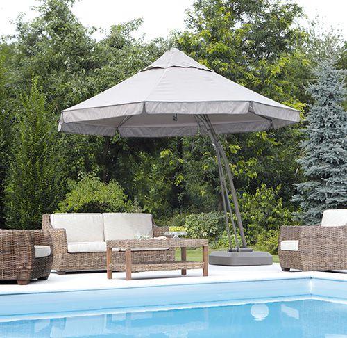Consigli arredo giardino con piscina - Ombrelloni da giardino 3x2 ...