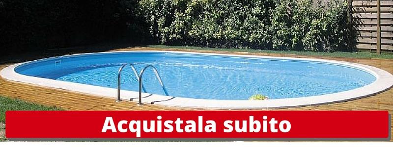 Piscine prezzi e misure piscina fuori terra intex oval for Teli per laghi artificiali