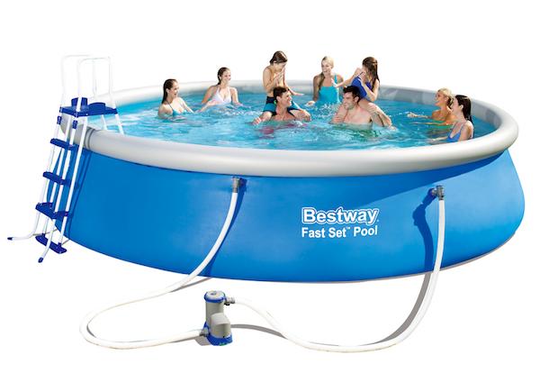 Piscine bestway la settimana del fuori tutto - Montaggio piscina bestway ...