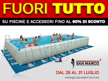 Tutte le piscine Intex in offerta