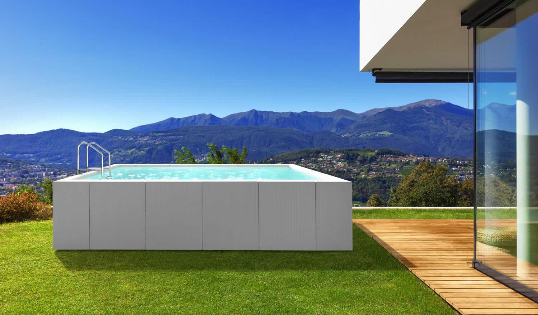 Piscine Da Esterno Rivestite In Legno piscine laghetto: novità san marco 2020