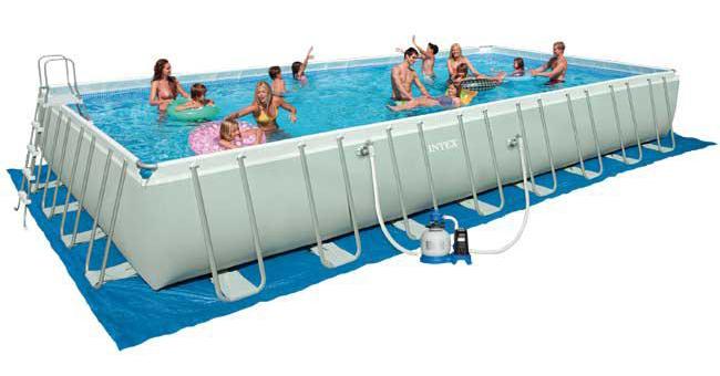 tutte le piscine intex in offerta. Black Bedroom Furniture Sets. Home Design Ideas