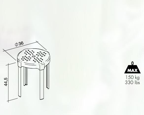 Sgabello doccia per disabili k design san marco