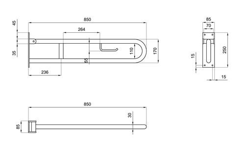 misure e dimensioni nellimmagine seguente