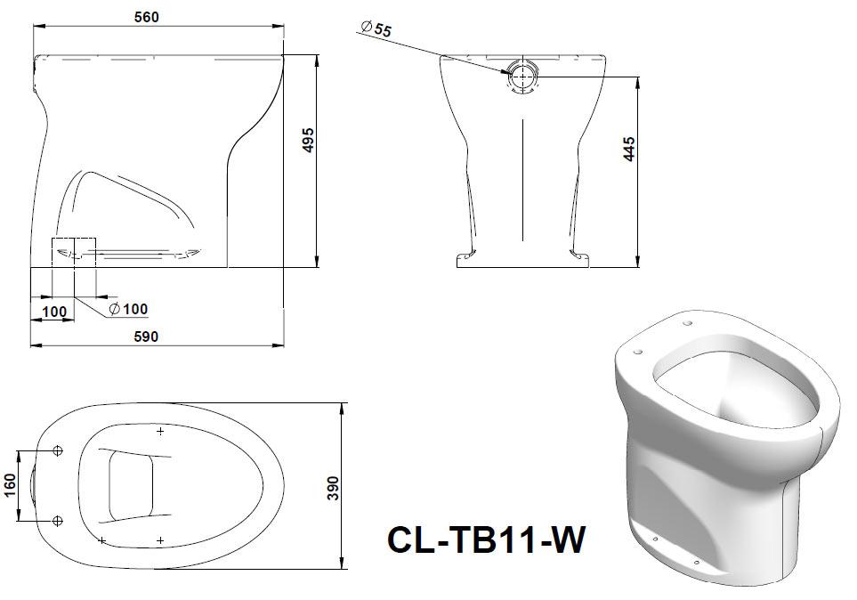 Misure Standard Lavabo Bagno. Trendy Misure E Dimensione Bagni A ...