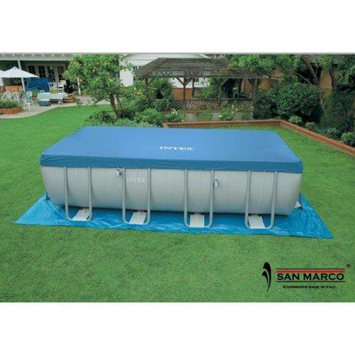 Piscina intex ultra frame 975x488x132 cm san marco - Scaletta per piscina fuori terra ...