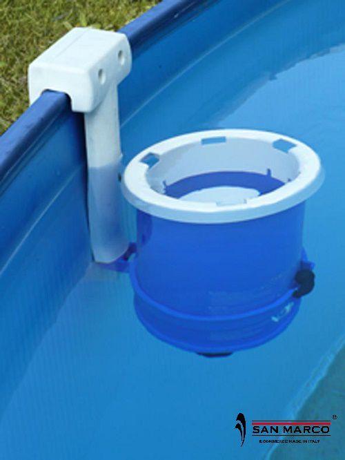 Piscina fuori terra gre lanzarote rotonda 460 cm san marco - Tappeto per piscina fuori terra ...