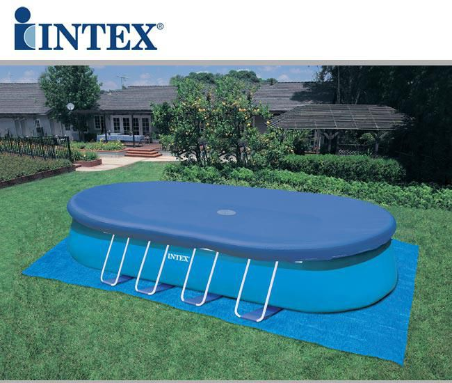 Piscina da esterno intex ovale 549x305x107 san marco - Accessori piscine intex ...