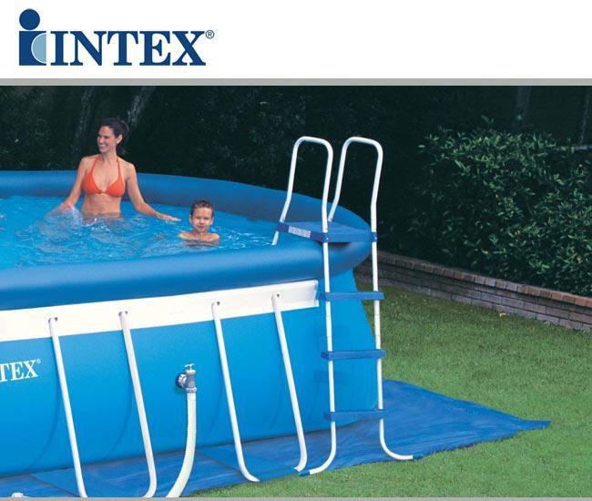Piscina fuori terra intex ovale 549x305x107 cm 28192np for Accessori piscine intex