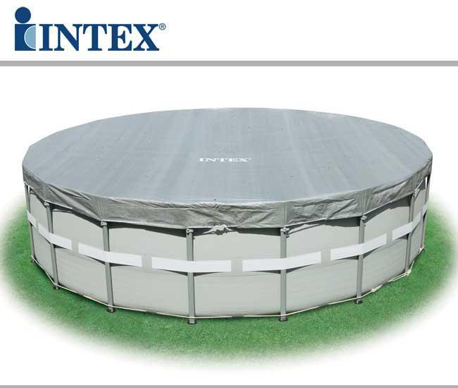 Piscina fuori terra intex ultra frame 549x132 cm san marco - Scaletta piscina intex ...