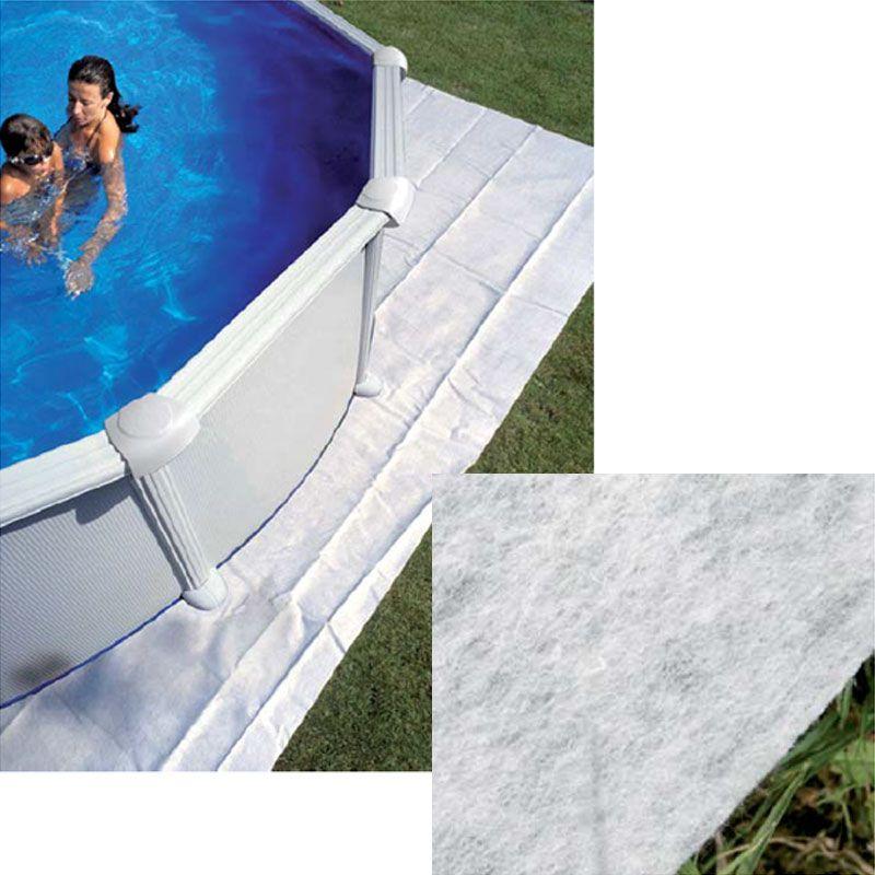 Piscina fuori terra gre olympus ovale 12x5 5 m san marco - Tappetino per piscina ...