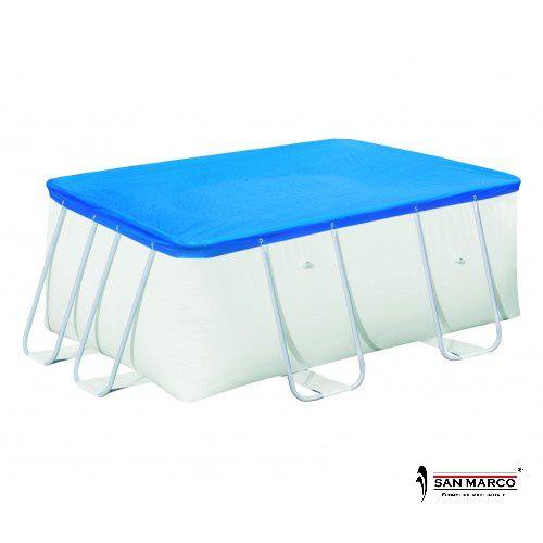 Piscina fuori terra frame rettangolare 549x274x122 cm - Riparazione telo piscina ...