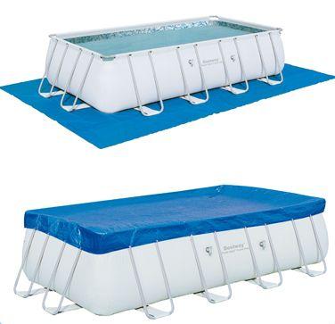 Piscina fuori terra bestway frame 671x366x132 cm san marco - Misure piscina bestway ...