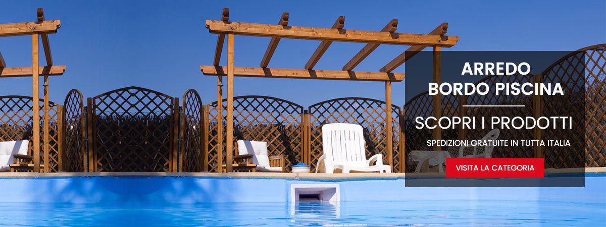 Piscine fuori terra e interrate lettini massaggio e tanto for Arredo piscina